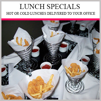 Contact Us For Lunch Specials - We Deliver!